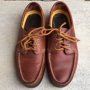 Sperry Top-Sider Boat Shoes Brown Leather Size 7.5